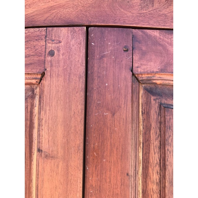 Antique Rustic Spanish Style Armoire For Sale - Image 11 of 13