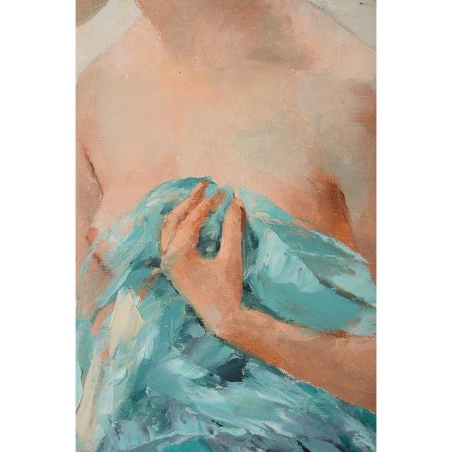 Igor Talwinski Portrait of Innocent Girl Painting For Sale - Image 7 of 10