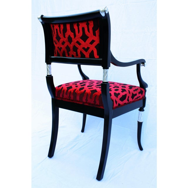 Italian Accent Chair For Sale - Image 5 of 6