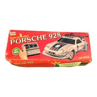 Vintage Radio Shack Porsche 928 Toy & Original Box