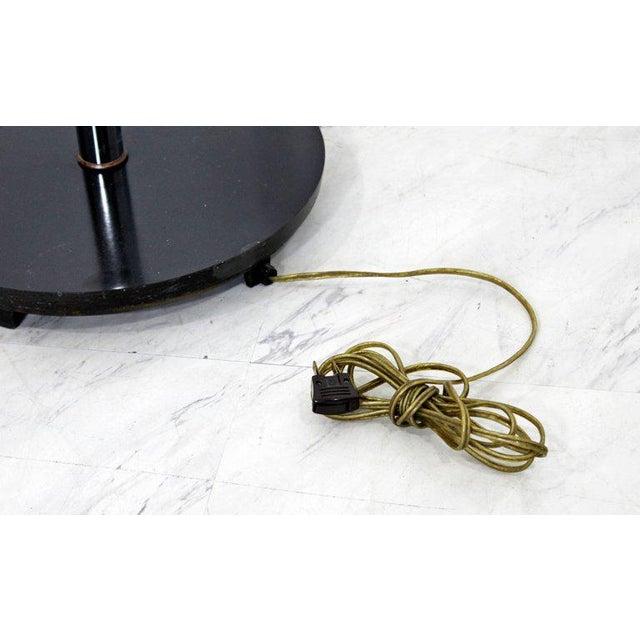 Mid-Century Modern Chrome Floor Lamp Lucite Balls by Laurel For Sale - Image 10 of 11