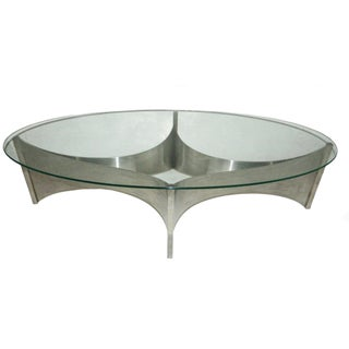 Circa 1970 Maison Charles Coffee Table For Sale