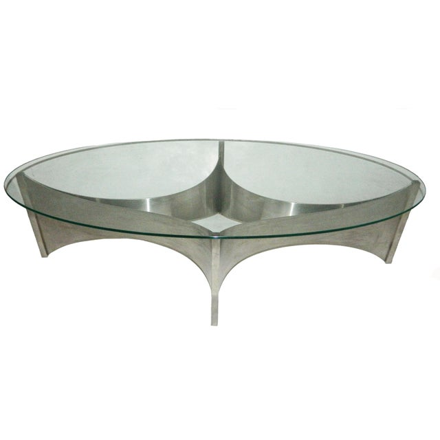 Circa 1970 Maison Charles Coffee Table - Image 1 of 4