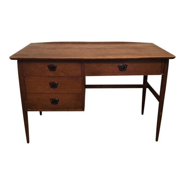 Mid-Century Modern Desk - Image 1 of 6