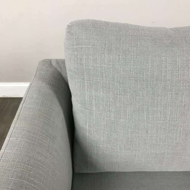 Clean Lined Modern Armchair - Image 5 of 11