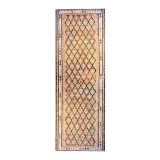 Mid-20th Century Qazvin Kilim Rug For Sale