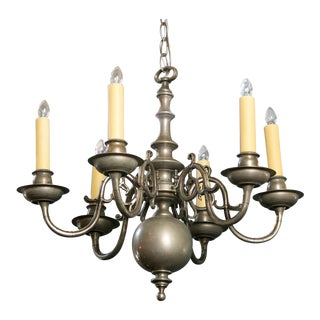 Georgian-Style Classic Chandelier For Sale