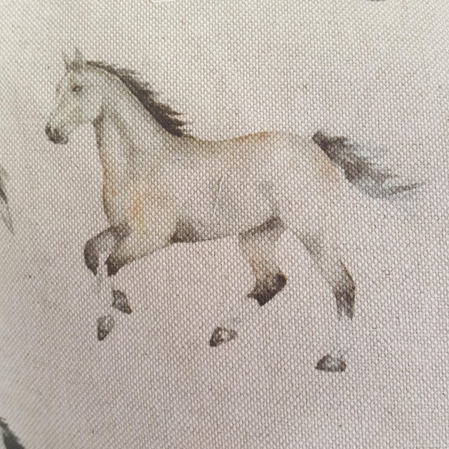 Horses Accent Pillow For Sale - Image 12 of 13