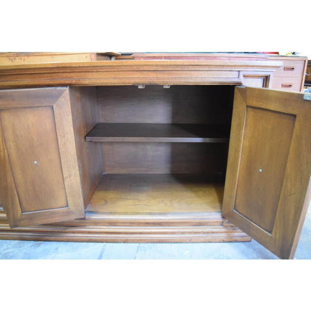 Late 19th Century Late 19th Century Vintage Mount Airy Furniture Five Doors Credenza Cabinet For Sale - Image 5 of 9