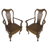 Image of Vintage Dining Room Chairs - A Pair For Sale