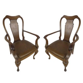 Vintage Dining Room Chairs - A Pair For Sale