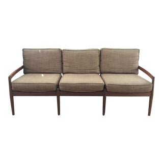 1960s Vintage Glostrup Mobelfabrik Mid Century Modern 3 Seat Sofa