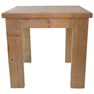 Jean Prouvé With Guy Rey-Millet Wood Dining Room Table, Refuge De La Vanoise For Sale