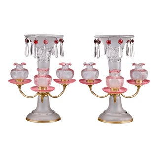 Baccarat Art Nouveau Centerpieces For Sale