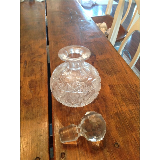 American Brilliant Cut Glass Decanters - A Pair - Image 4 of 5