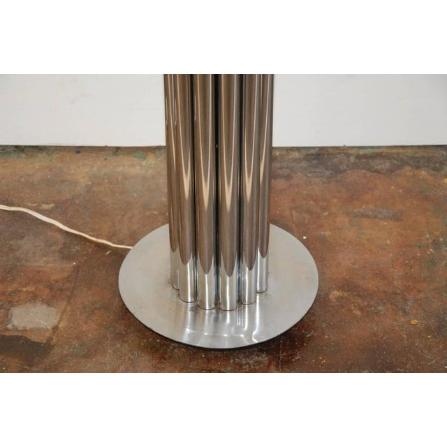 George Kovacs Chrome Tubular Floor Lamp For Sale In Richmond - Image 6 of 8