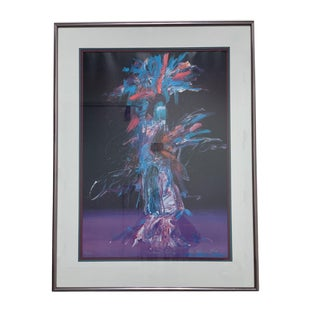 Pablo A. Milan Harvest Dancer 3/950 Signed Custom Print For Sale