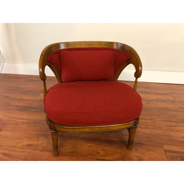 1950s Tomlinson Sophisticate Vintage Occasional Chair For Sale - Image 5 of 13