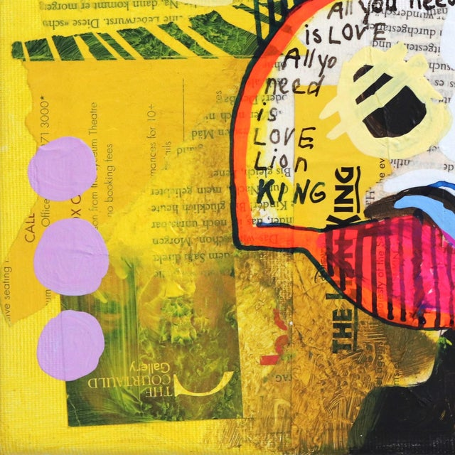 """2010s """"Mary's Love"""" Original Artwork by Fredi Gertsch For Sale - Image 5 of 9"""