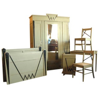 Austrian Deco 6 pc. Bedroom Set For Sale