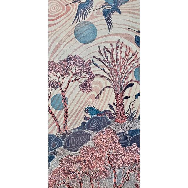 """Jesse Allen (Kenya, B.1936) """"Birds Flocking"""" Original Signed Print For Sale In San Francisco - Image 6 of 9"""