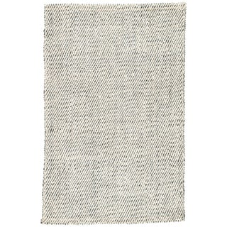 Jaipur Living Almand Natural White/ Gray Area Rug - 10′ × 14′ For Sale