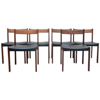 Alfred Hendrickx for Belform Set of Six Dining Chairs, 1960s, Belgium For Sale