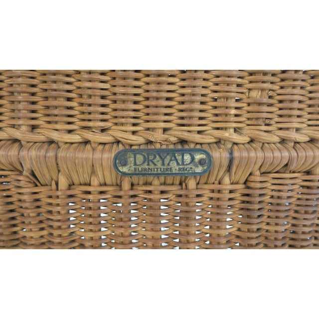 """Brass """"Guests Welcome"""" Chair by Dryad & Co. For Sale - Image 7 of 8"""