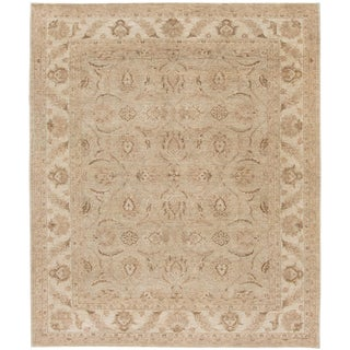 """Contemporary Indian Peshawar Rug, 8'2"""" X 10'0"""" For Sale"""