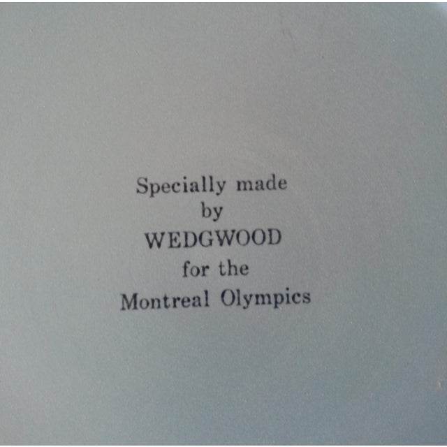 Wedgwood Jasperware 1976 Montreal Olympics Plate For Sale - Image 5 of 6
