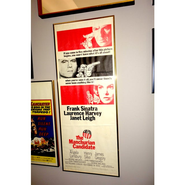 """Submitted for your consideration is this 1962 Movie Poster for The Film: """"The Manchurian Candidate"""", Direct by John..."""