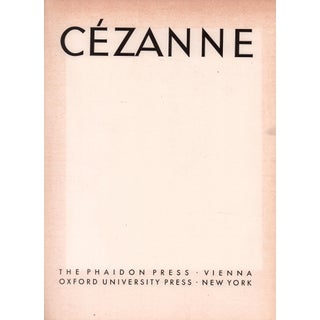 """1937 """"Cezanne"""" Coffee Table Book Preview"""