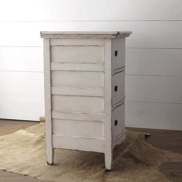 Antique White Painted Chest - Image 9 of 11