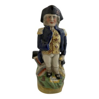 19th Century Toby Jug of Admiral Nelson For Sale