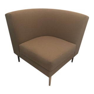 Dwr Curved Corner Chair For Sale