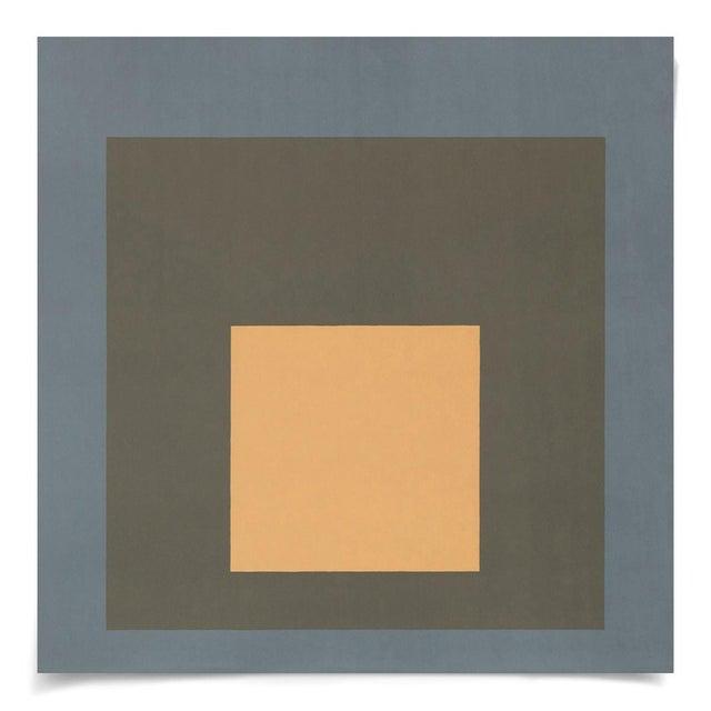 Contemporary Modern Color Squares, Set of 4, Unframed Artwork For Sale - Image 3 of 6