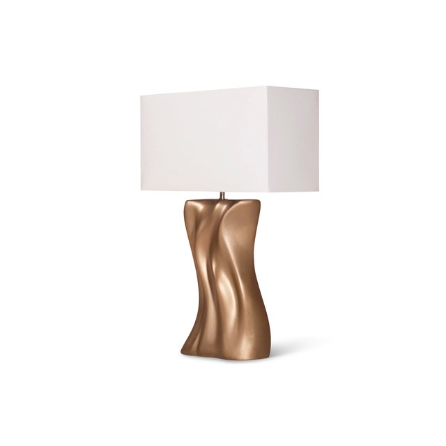 Amorph Doris Table Lamp - Gold Finish For Sale In Los Angeles - Image 6 of 9