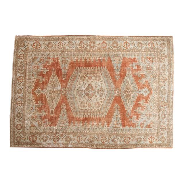 "Vintage Distressed Veece Carpet - 7'8"" X 11' For Sale"