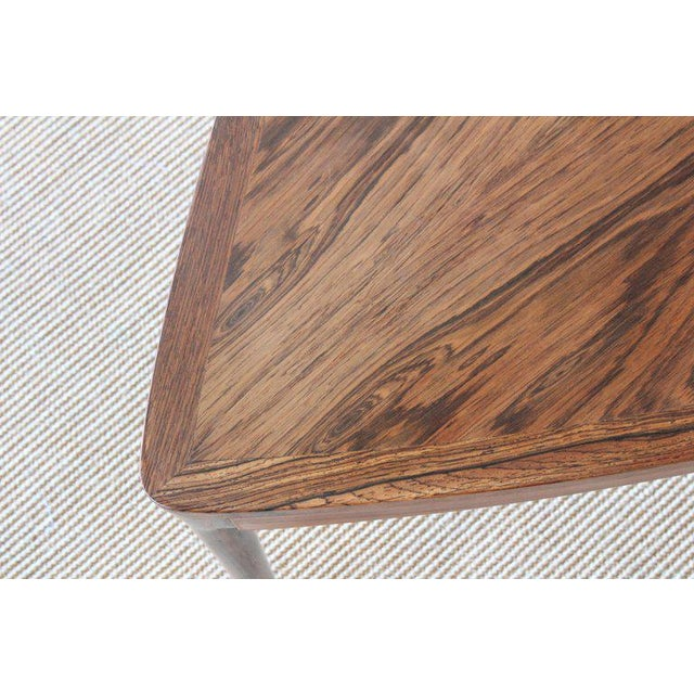Rosewood Danish Rosewood Table, 1960s For Sale - Image 7 of 10