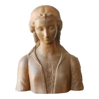 Renaissance Style Italian Bust of a Woman #1