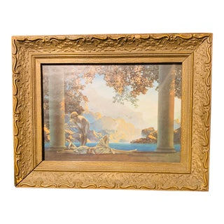 1920s Vintage Maxfield Parrish Framed Print For Sale