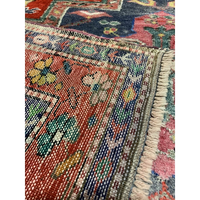 """Traditional Turkish Wool Oushak Rug - 4'5"""" X 7'9"""" For Sale - Image 4 of 6"""