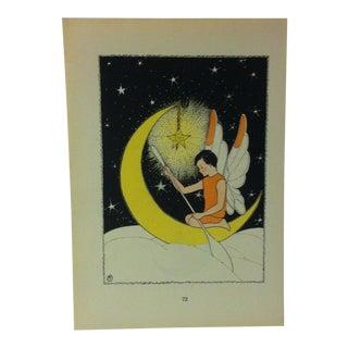 "1927 ""The Moonday"" Across the Rainbow Bridge Print For Sale"
