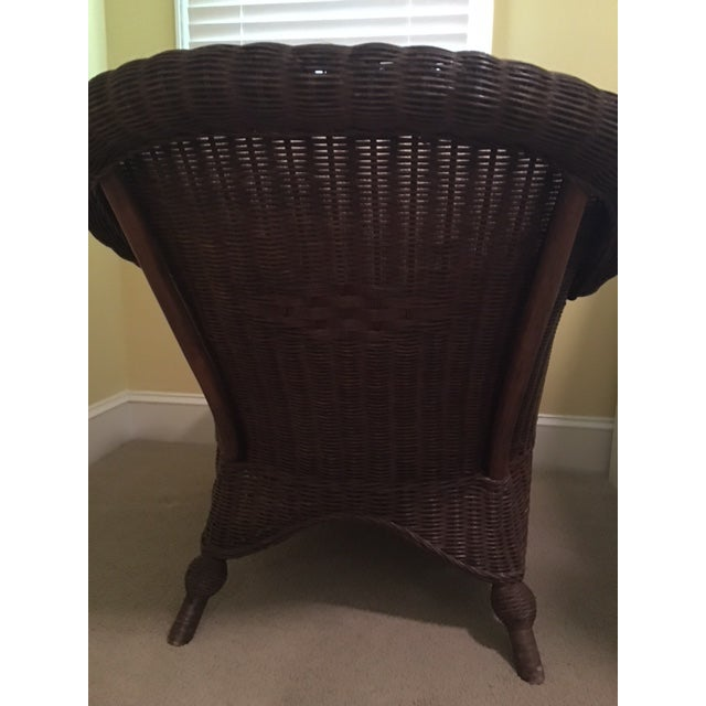 Lexington Casual Willow Chair and Ottoman - Image 4 of 8