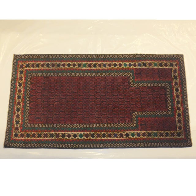 Vintage Baluch Rug - 3' x 5' - Image 2 of 5