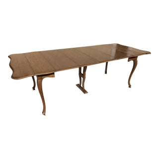 John Widdicomb Watertown Slide Harp Dining Table