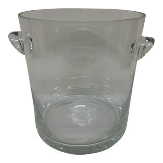 1920 Art Deco Crystal Ice Bucket