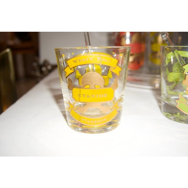 """This stylish and chic barware set will make your guest smile with delight as you ask them """"Whats Your Pleasure"""". The set..."""