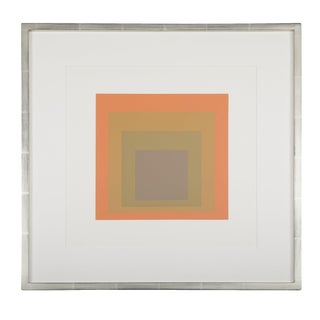 Josef Albers Homage to the Square From Formations: Articulation Folio II Folders 19. For Sale