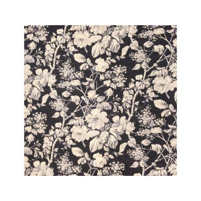 Boho Chic Ralph Lauren Floral Linen Pillow Cover For Sale - Image 3 of 4